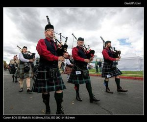 Bagpipe bands are key at a Celtic Festival