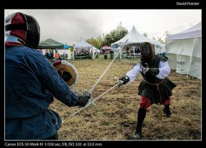 Sword fighting and jousting are popular at celtic festivals
