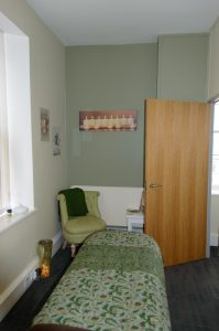 Ginger Tree Treatment Room for holistic beauty