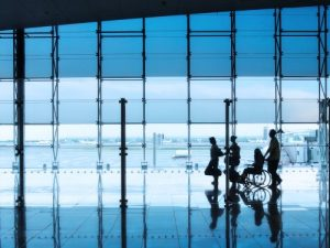 Airline services can assure traveling seniors safely get to their gate