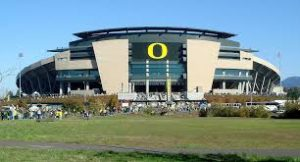 Autzen Stadium home of Oregon Ducks Football