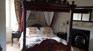 West Witton's Old Vicarage guest room