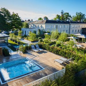 Rooftop Spa gardens embraces nature at Rudding Park
