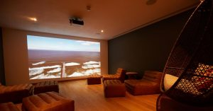 Visual sense experience at Rudding Park Spa