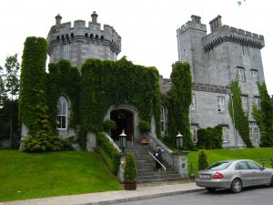 Irish Castle - Dromoland in western Ireland