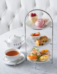 Afternoon tea is one food term for tea with something to eat