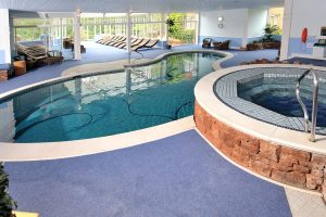 Indoor spa offer wellness year around