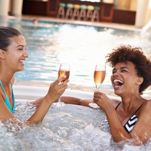 Escape to a spa for your bachelorette retreat