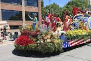 Grand Floral Parade  is a highlight of Portland's 100 year tradition of the Rose Festival