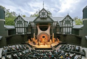 Ashland Oregon is home to the Shakespearean festival