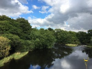 River Ure for peacefull wellbeing