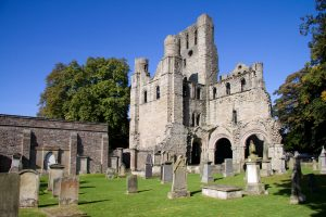 Kelso Abbey borderlands scotland