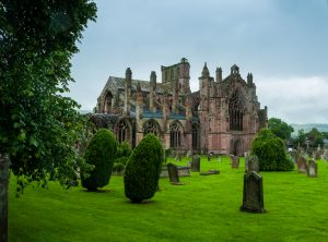 Dryburgh Abbey borderlands