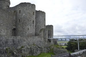 Castles on Wales coastal tour