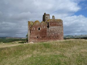 Cessford Castle Scottish Borderlands