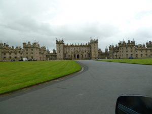 Floors Castle in Scottish borderlands