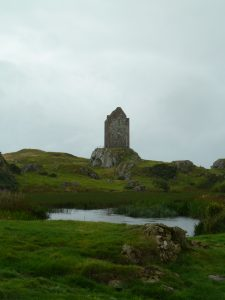 Smailholm in Scottish borderlands
