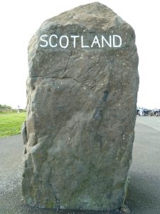 Scotland borderlands