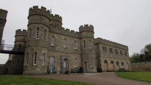 Jedburgh Castle Jail Scottish borderlands