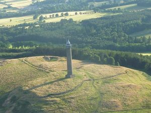 Waterloo Monument Scottish borders